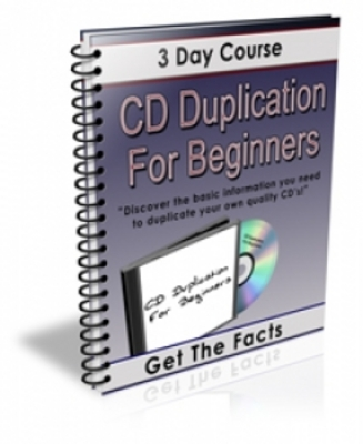 Product picture CD Duplication for Beginners (PLR)