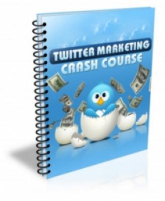 Product picture TWITTER Marketing Crash Course (PLR)