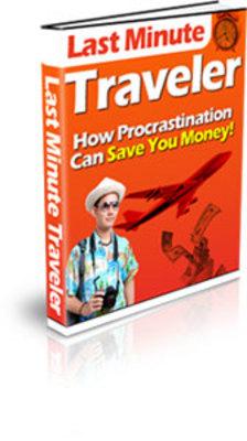 Product picture Last Minute Traveler(PLR)